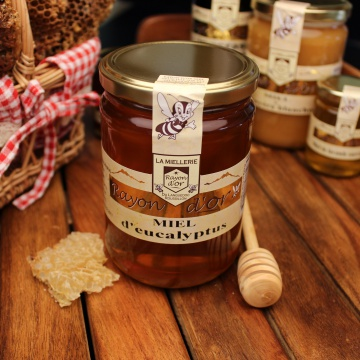 Miel d'eucalyptus 750g - Miel Rayon d'Or