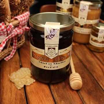 Miel de forêt 750g - Miel Rayon d'Or