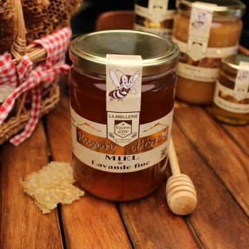 Miel de lavande fine 750g - Miel Rayon d'Or