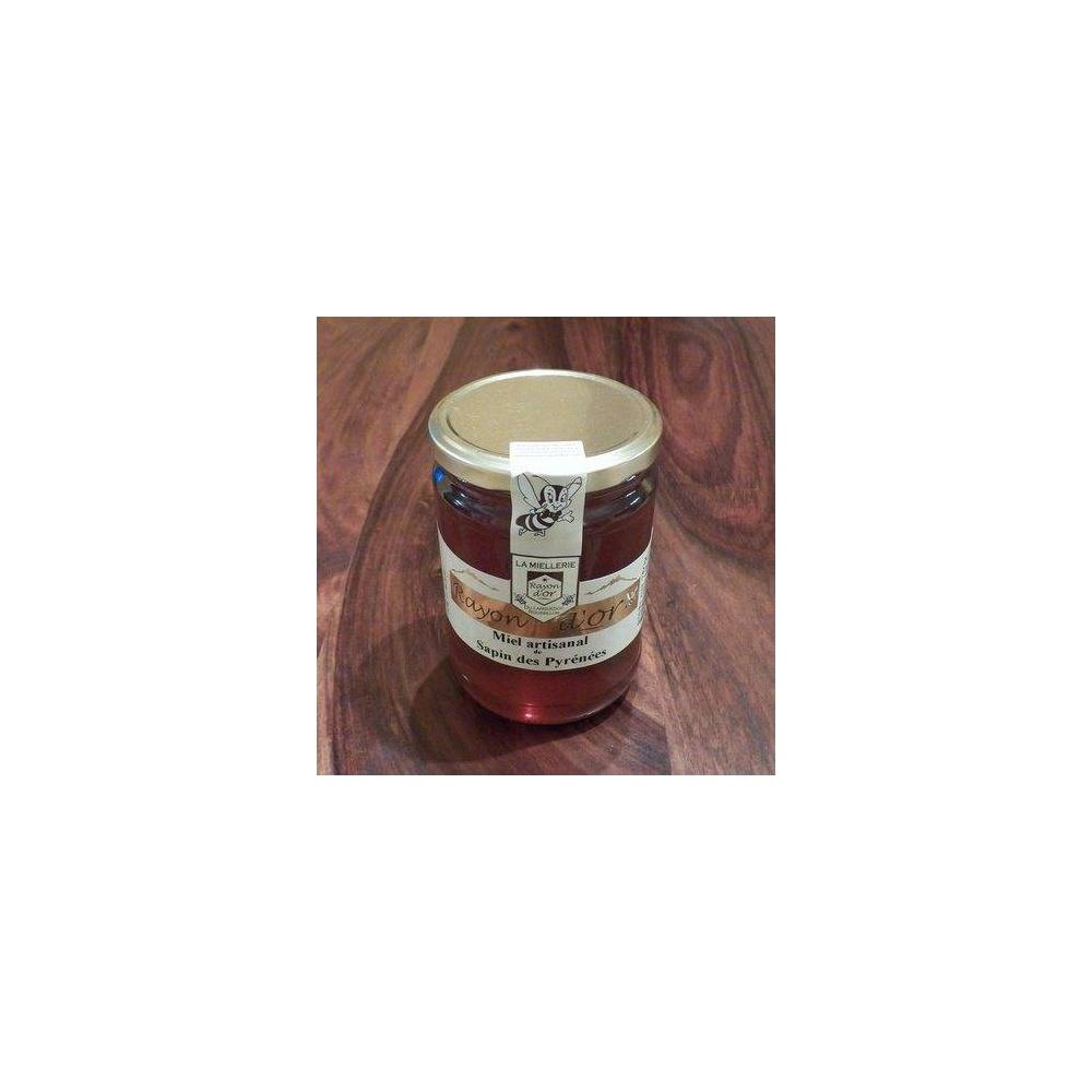 Miel de sapin 750g pot verre - Miel Rayon d'Or