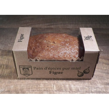 Pain d'épices pur miel et figues portion individuelle 115g