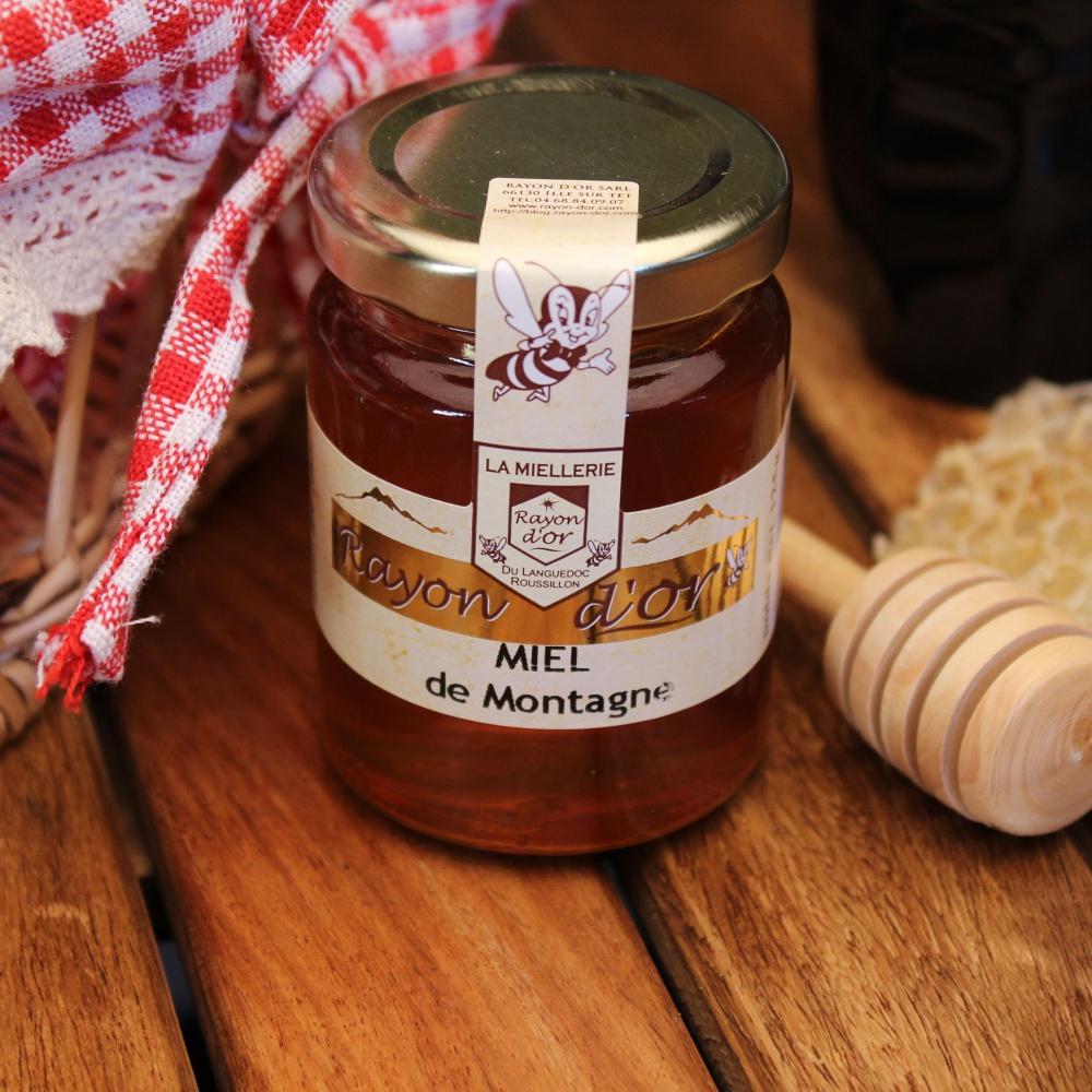 Miel de montagne des Pyrénées 125g - Miel Rayon d'Or