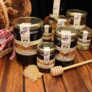 Miel et miellat de forêt