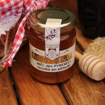 Miel de haute montagne 125g - Miel Rayon d'Or