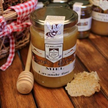 Miel de lavande fine 350g - Miel Rayon d'Or