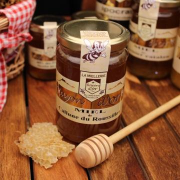 Miel de Callune 350g - Miel Rayon d'Or