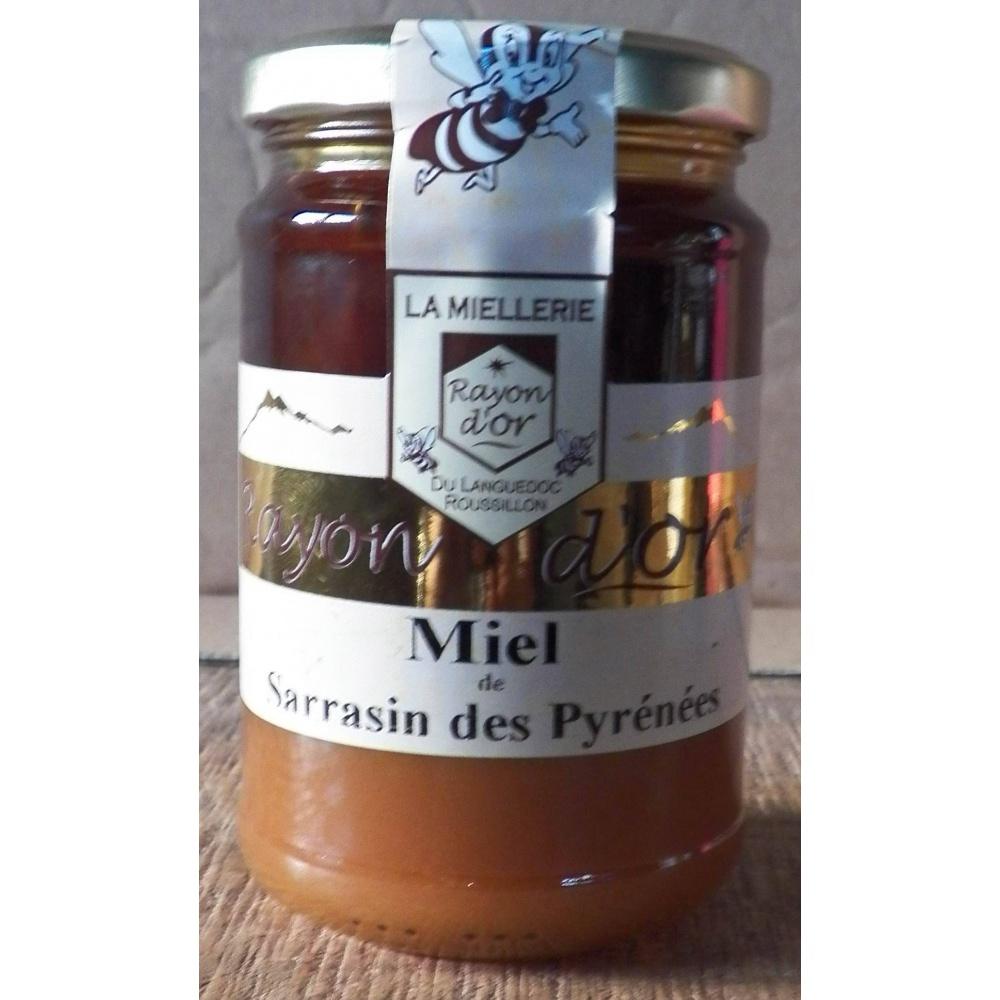 miel de sarrasin des pyrénées350g pot verre - Miel Rayon d'Or