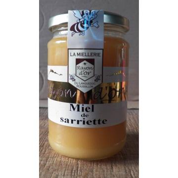 Miel de sarriette 350g pot verre