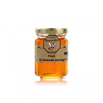 Miel de lavande sauvage 125g • Rayon d'Or • Miel Rayon d'Or