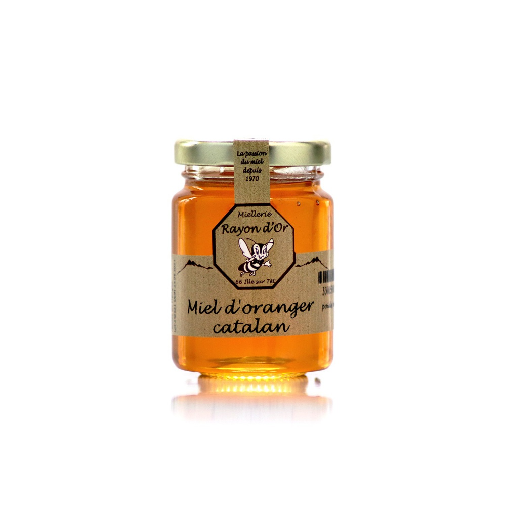 Miel d'oranger 125g • Rayon d'Or