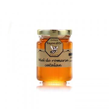 Miel de Romarin du Roussillon 125g • Rayon d'Or • Miel Rayon d'Or