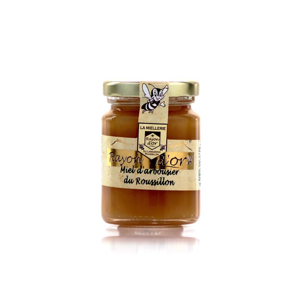 Miel d'arbousier du Roussillon 125g • Miel Rayon d'Or