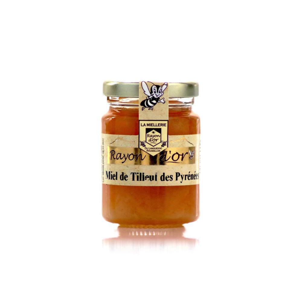 Miel de tilleul des Pyrénées 125g • Rayon d'Or