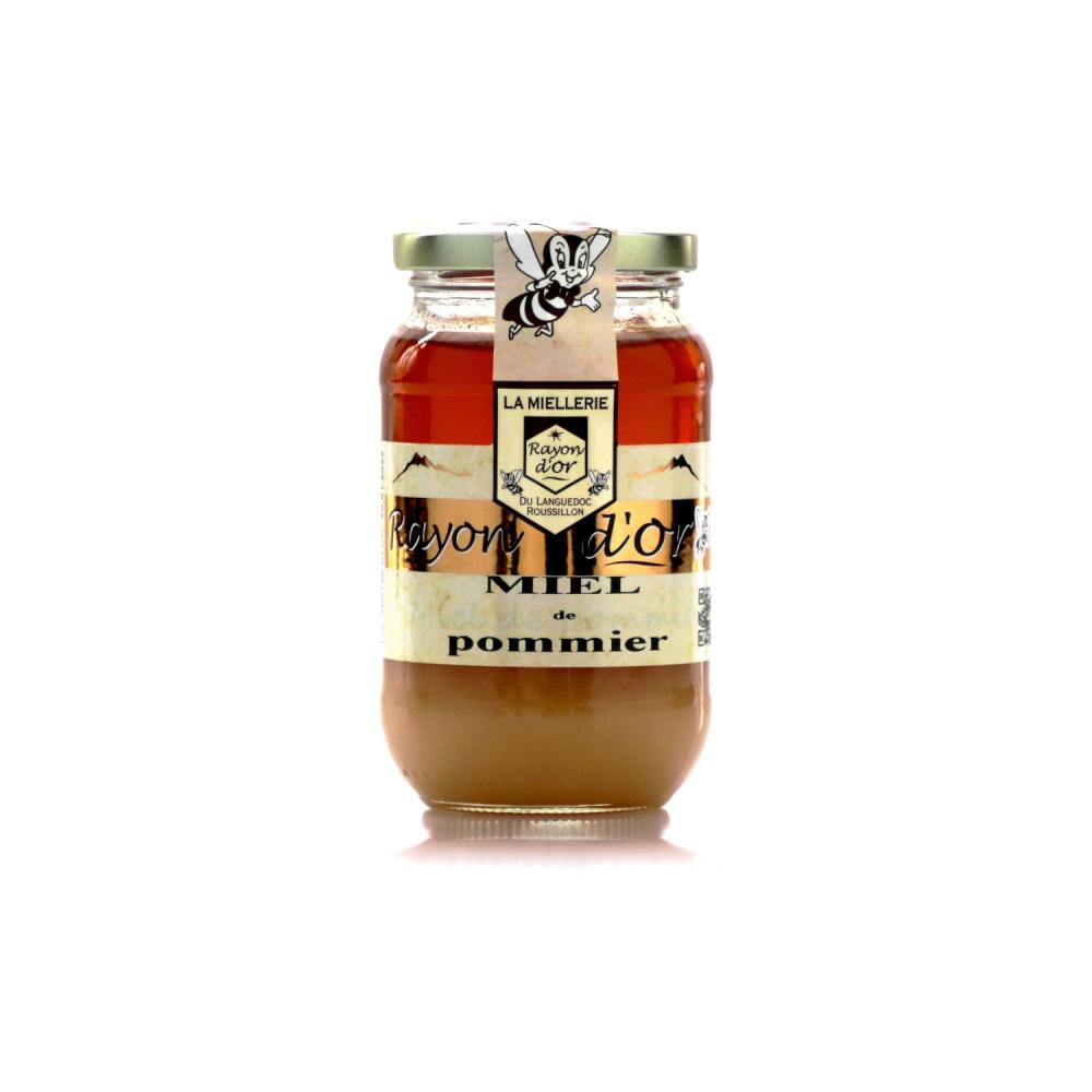 Miel de Pommier 350g • Miel Rayon d'Or