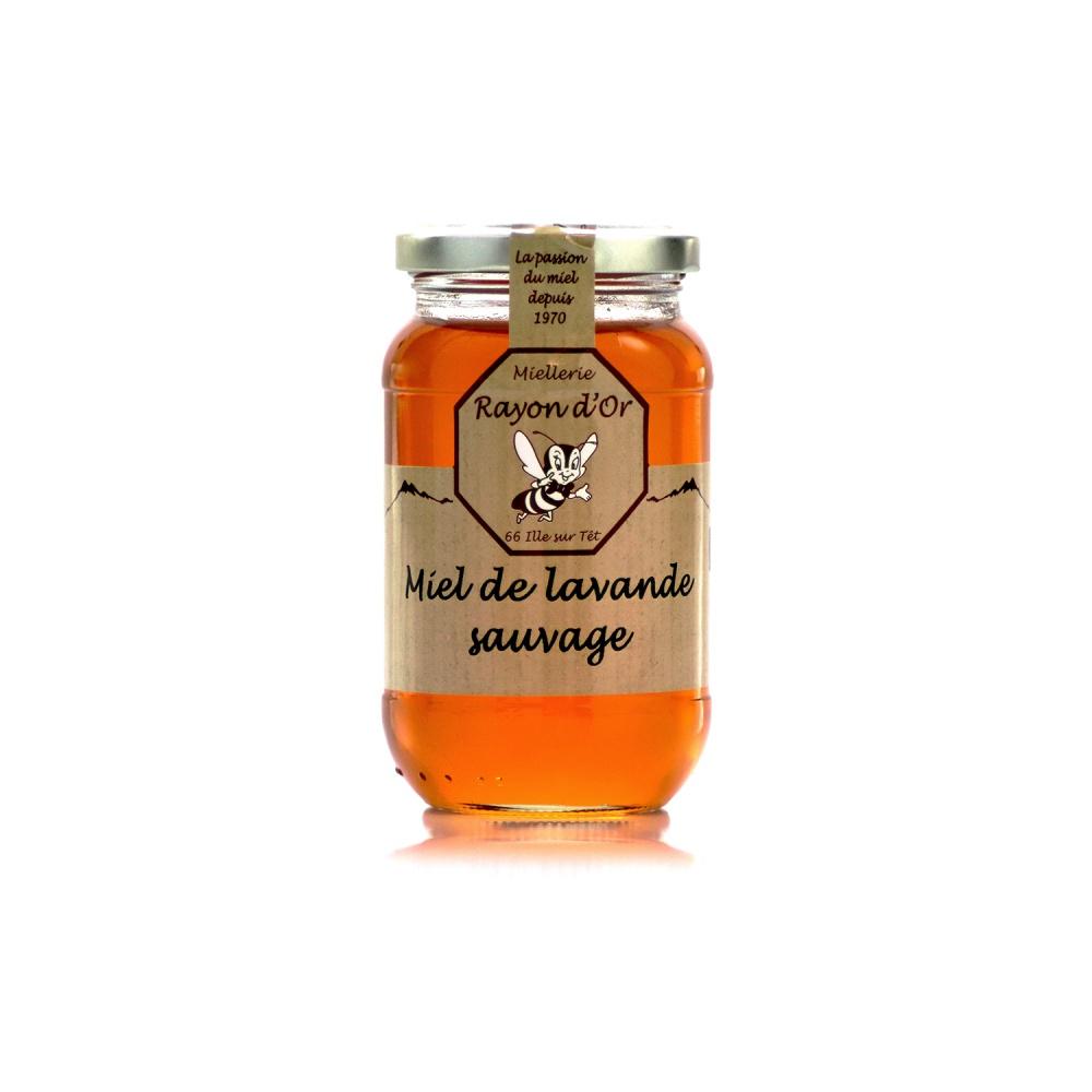 Miel de lavande sauvage 350g • Rayon d'Or
