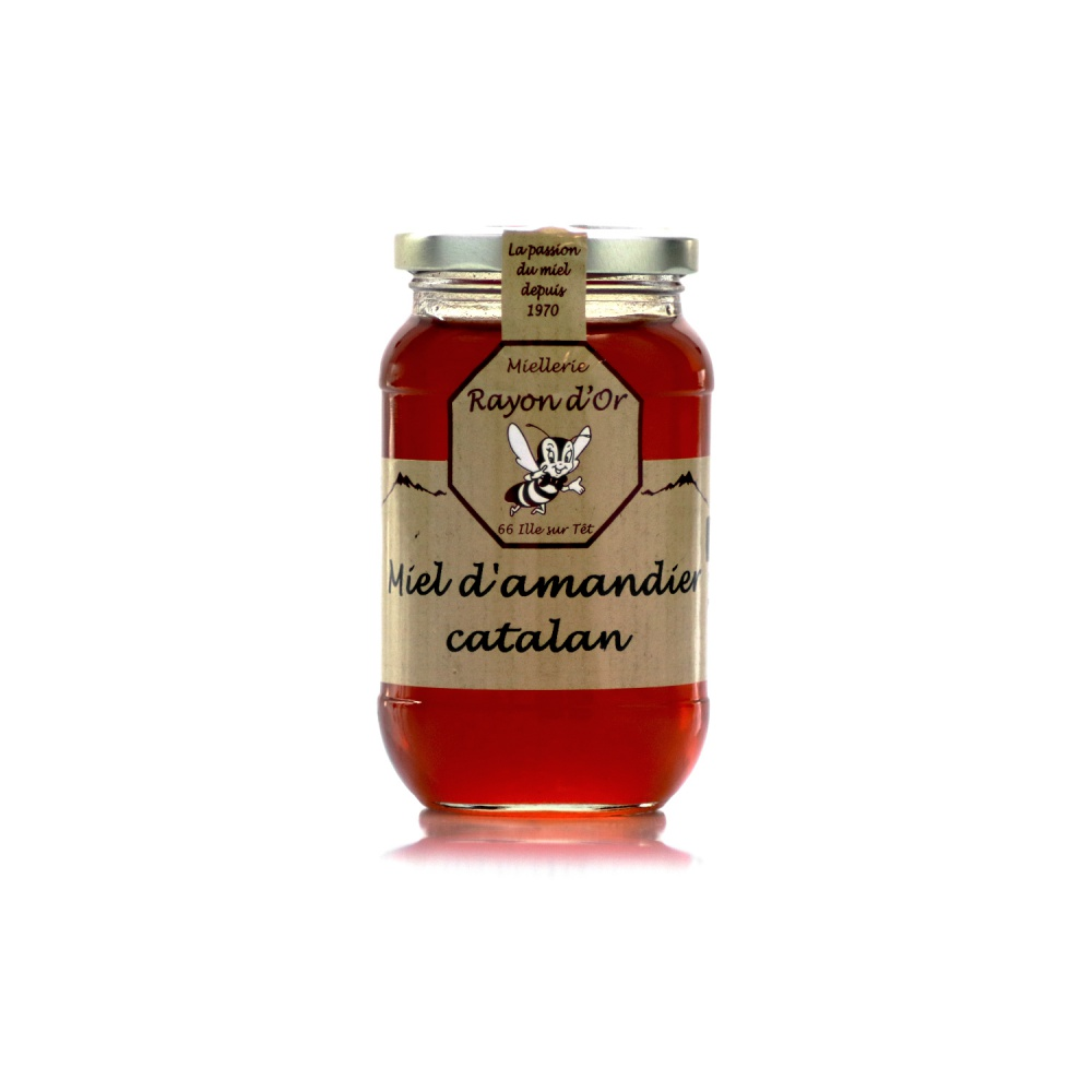 Miel d'amandier 350g • Rayon d'Or