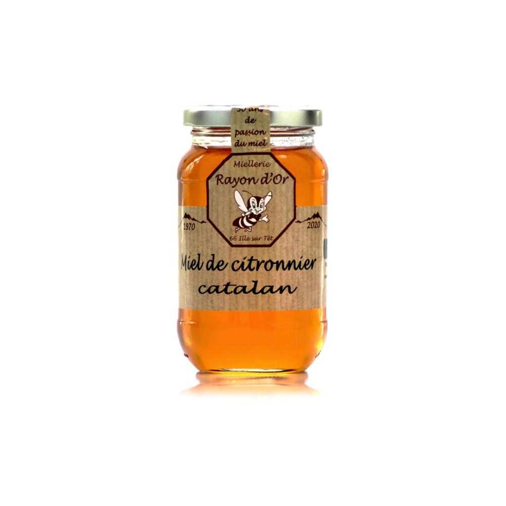 Miel de Citronnier 350g • Miel Rayon d'Or