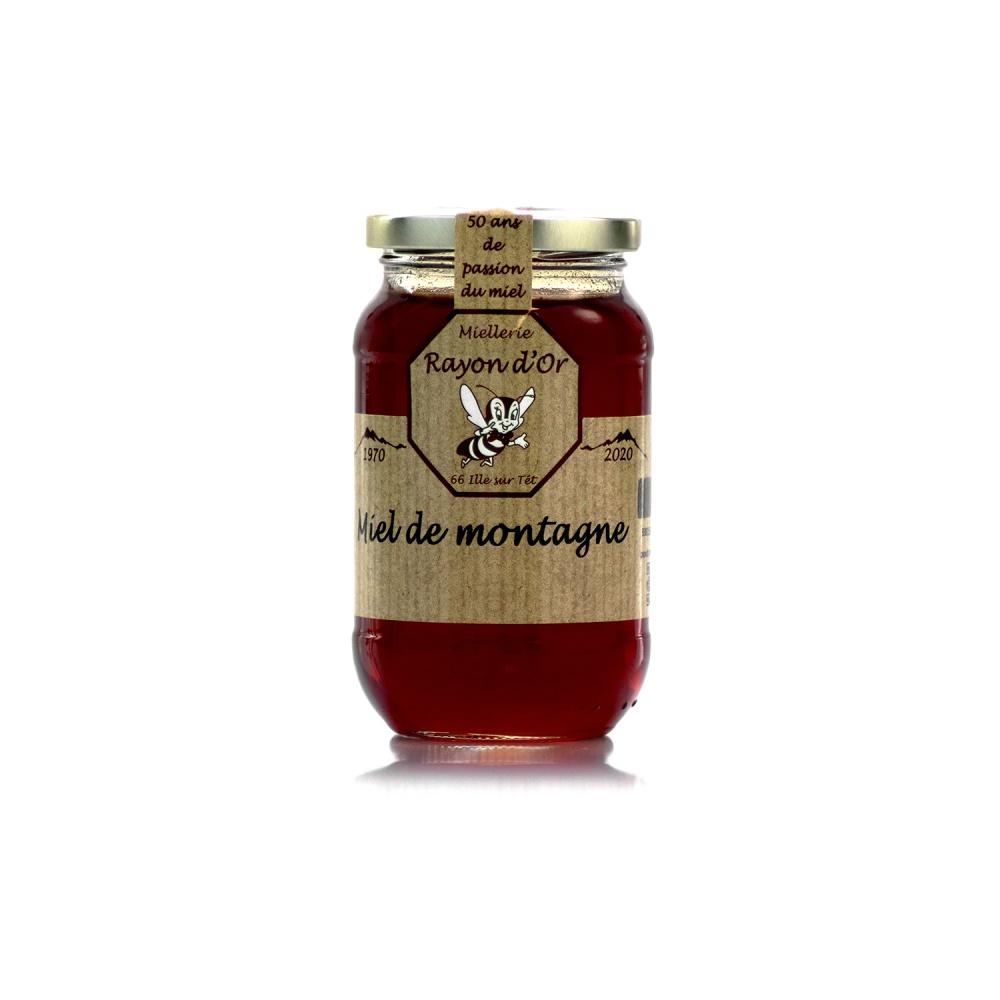 Miel de montagne 350g • Rayon d'Or