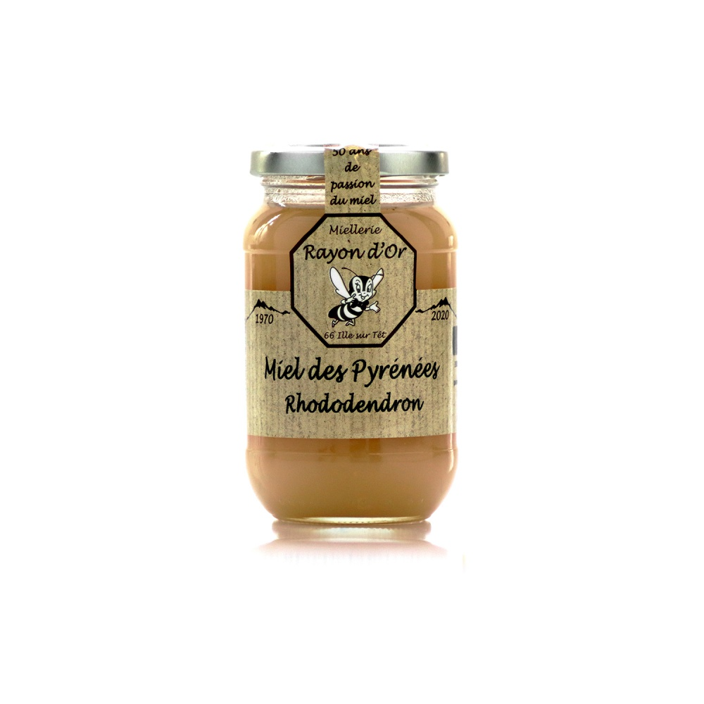 Miel de rhododendron des Pyrénées 350g • Rayon d'Or