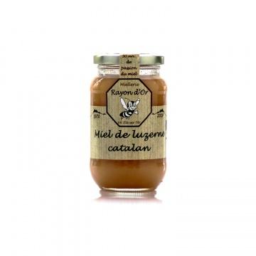 Miel de luzerne catalan 350g • Miel Rayon d'Or