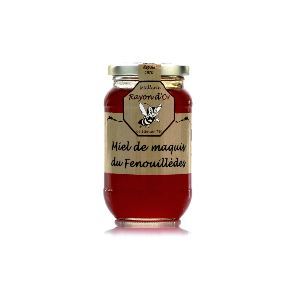 Miel de maquis du Fenouillèdes 350g