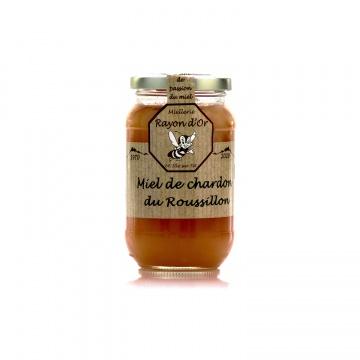 Miel de chardon du Roussillon 350g • Rayon d'Or