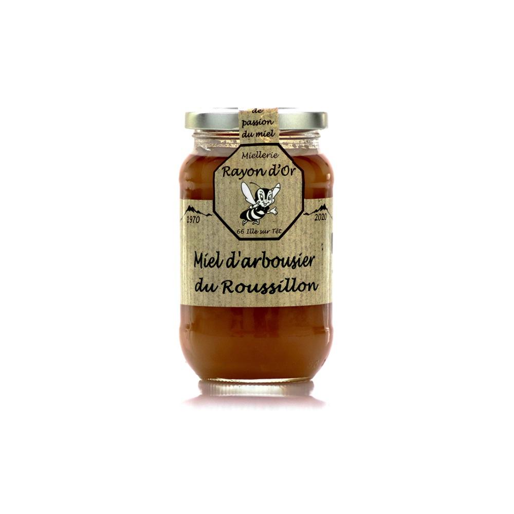 Miel d'arbousier du Roussillon 350g