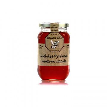 Miel de haute montagne des Pyrénées 350g • Miel Rayon d'Or