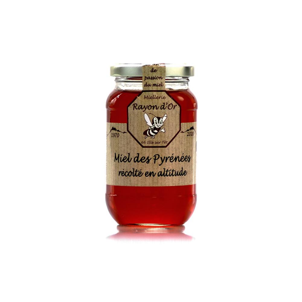 Miel de haute montagne des Pyrénées 350g