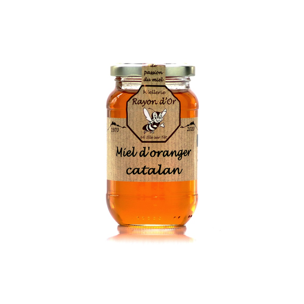 Miel d'Oranger 350g • Miel Rayon d'Or