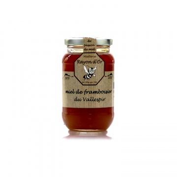 Miel de framboisier des Pyrénées 350g