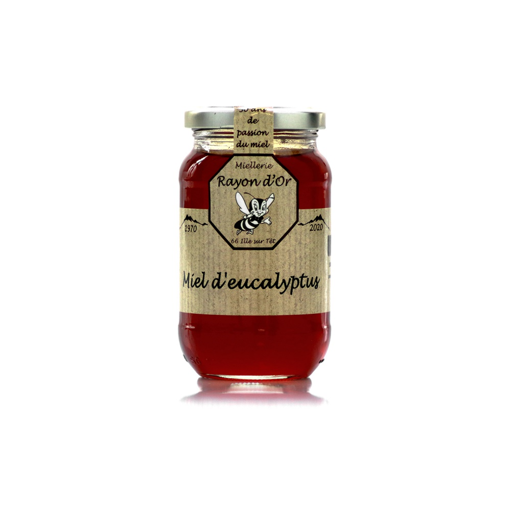 Miel d'Eucalyptus 350g • Rayon d'Or