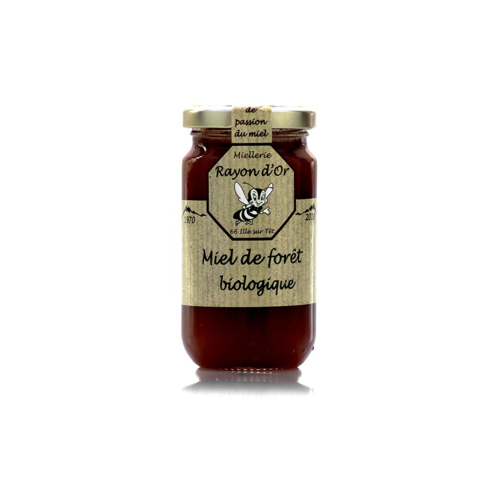 Miel de forêt bio 350g