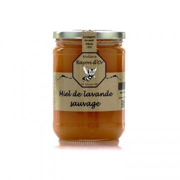 Miel de lavande sauvage des garrigues du Roussillon 750g • Miel Rayon d'Or