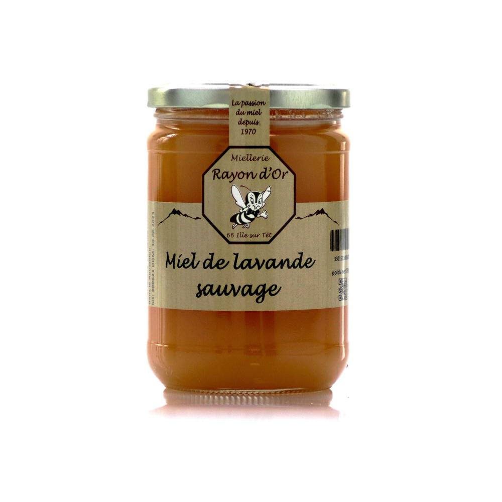 Miel de lavande sauvage des garrigues du Roussillon 750g