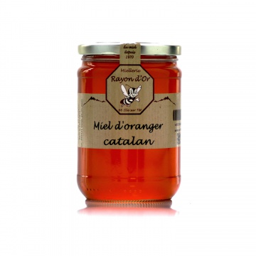 Miel d'oranger 750g • Miel Rayon d'Or
