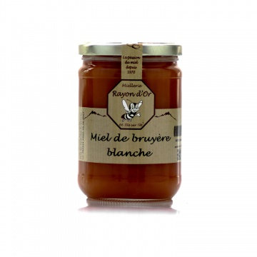 Miel de bruyère blanche du Roussillon 750g • Miel Rayon d'Or