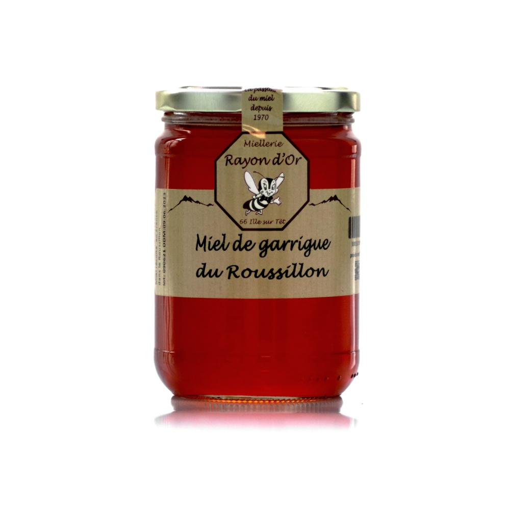 Miel de garrigue du Roussillon 750g