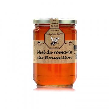 Miel de Romarin du Roussillon 750g • Miel Rayon d'Or