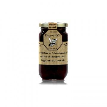 Confiture bio à la figue et au miel 220g