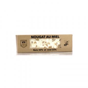 Nougat catalan aux noix et miel • Miel Rayon d'Or