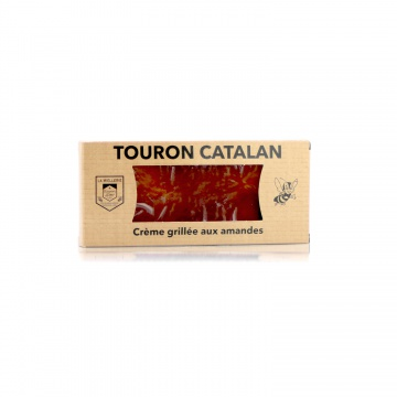 Touron catalan crème grillée • Miel Rayon d'Or