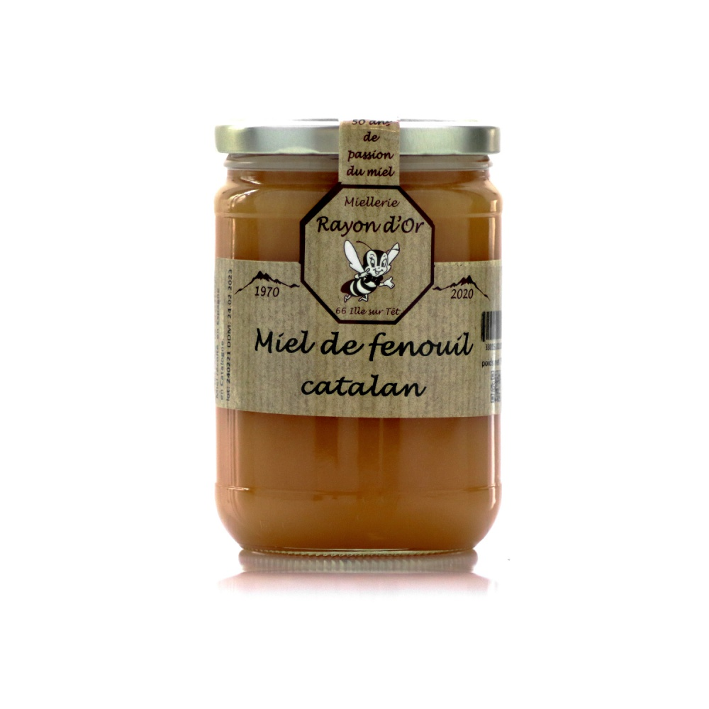 Miel Fenouil Catalan 750g • Rayon d'Or